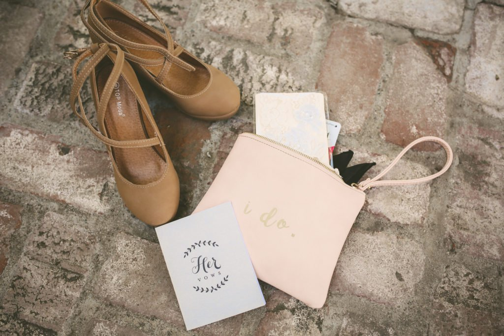 wedding accessories vow book