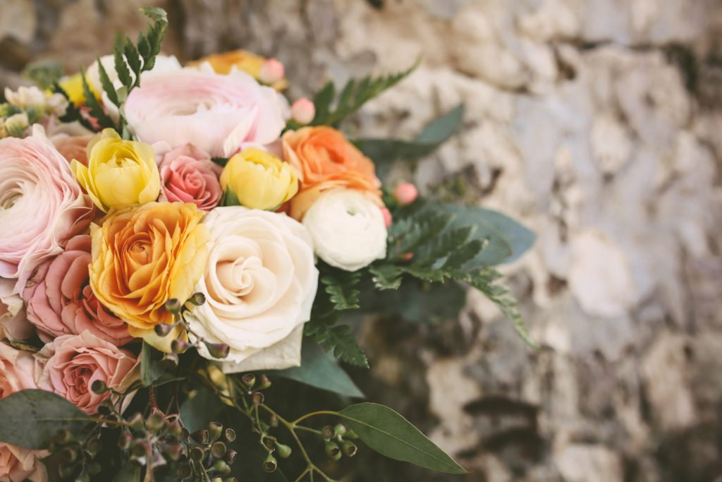wedding bouquet by Penny Blooms