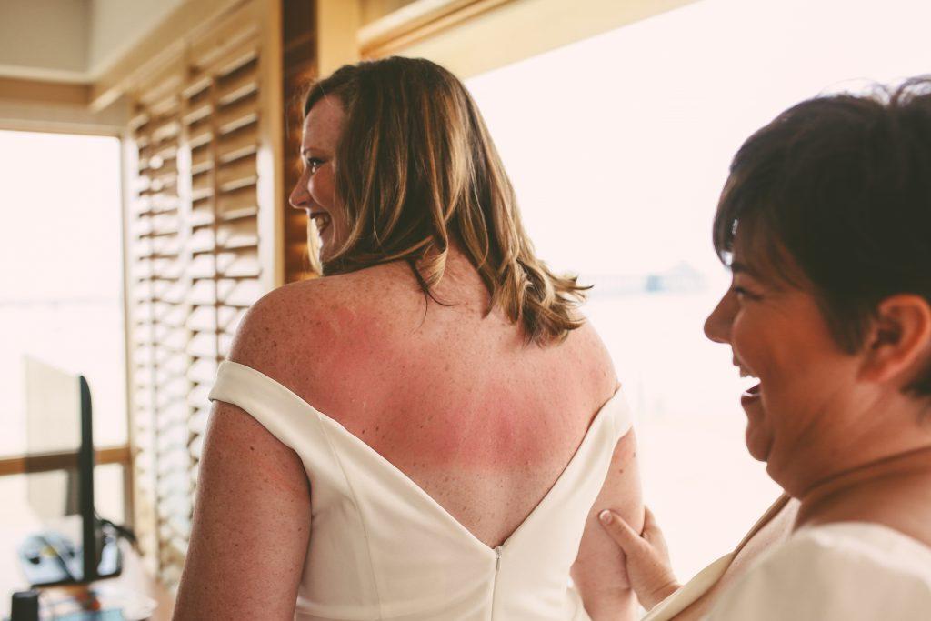 San Diego Same Sex Elopement: Getting ready