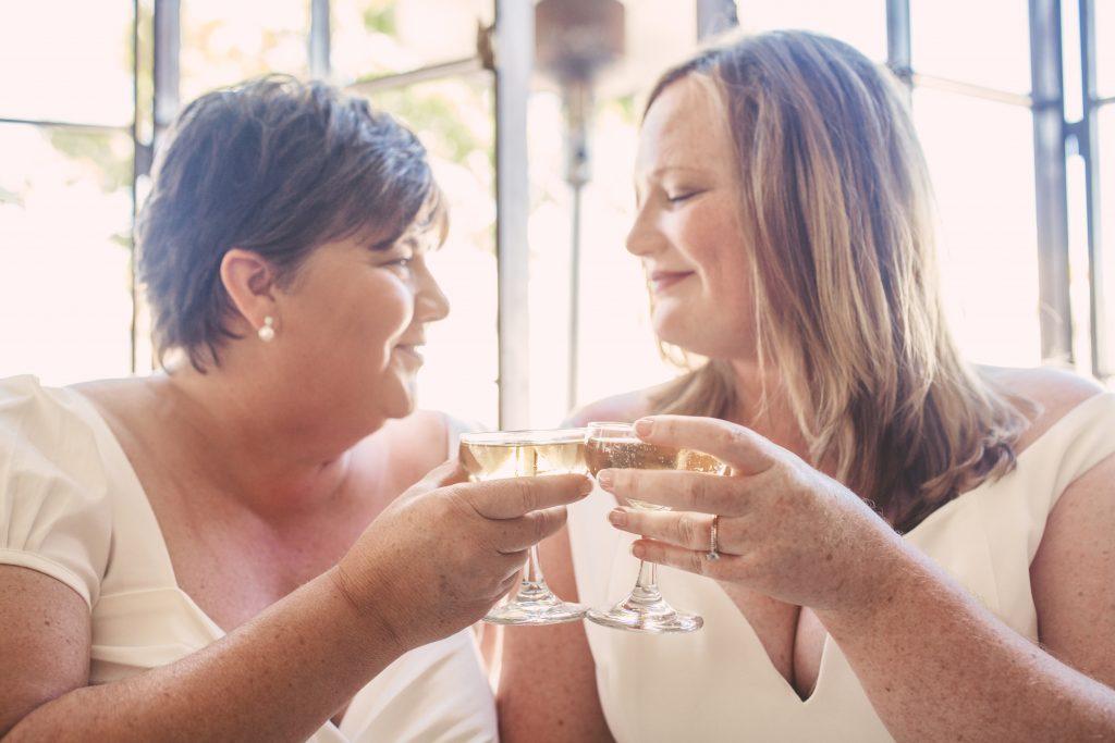 San Diego Same Sex Elopement: North Park - Soda and Swine, Polite Provisions, Paleo Treats