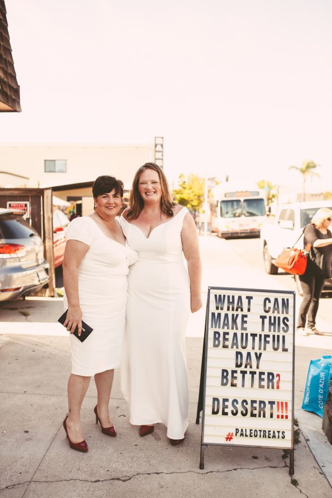 San Diego Same Sex Elopement: North Park - Soda and Swine, Polite Provisions, Paleo Treats