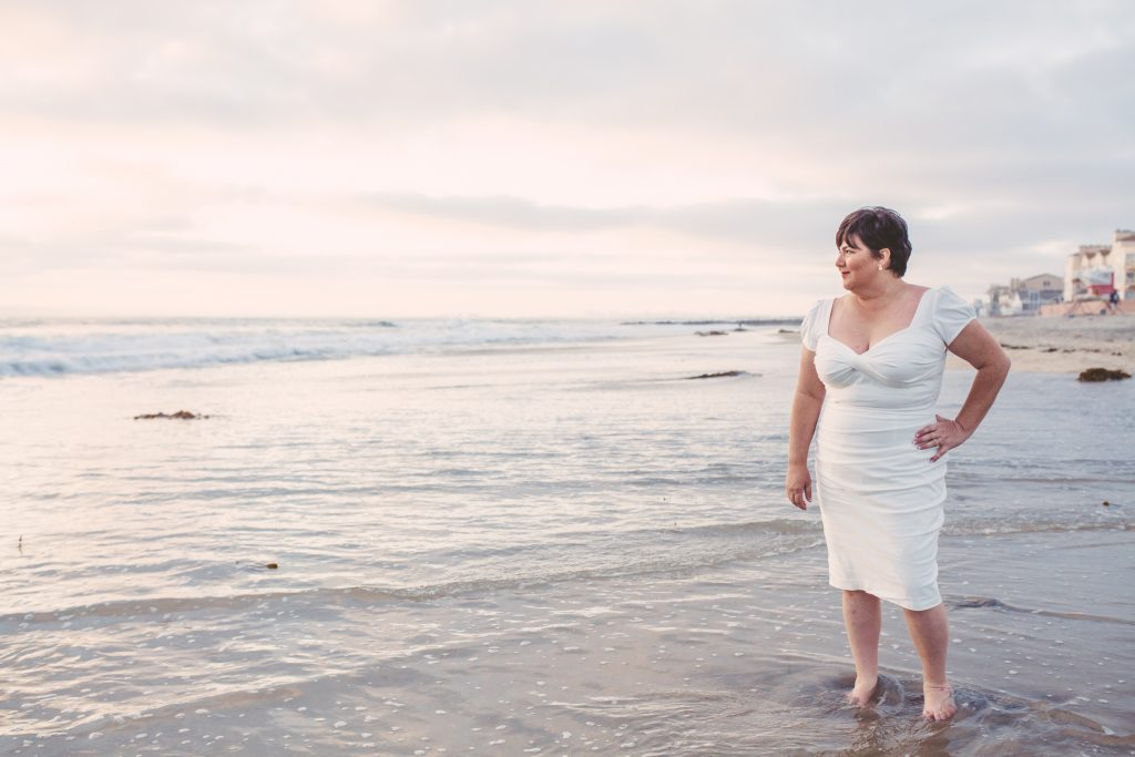 San Diego Same Sex Elopement: Imperial Beach, Pier South Resort