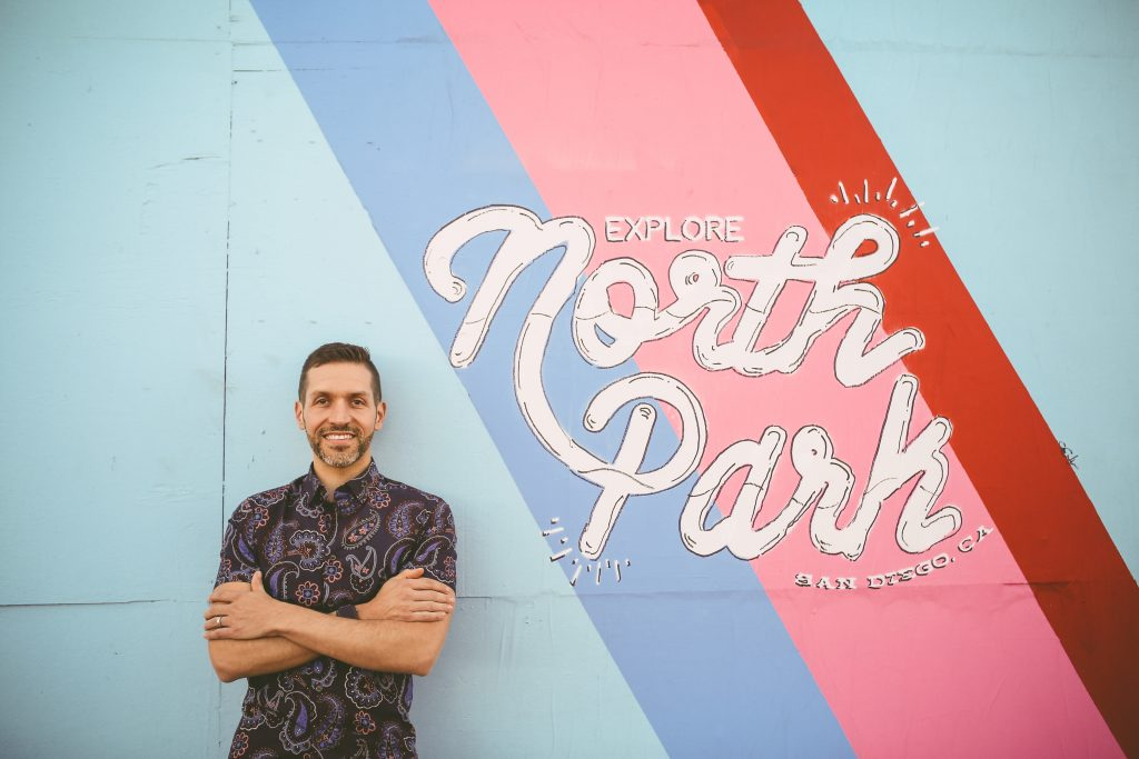 North park headshot session