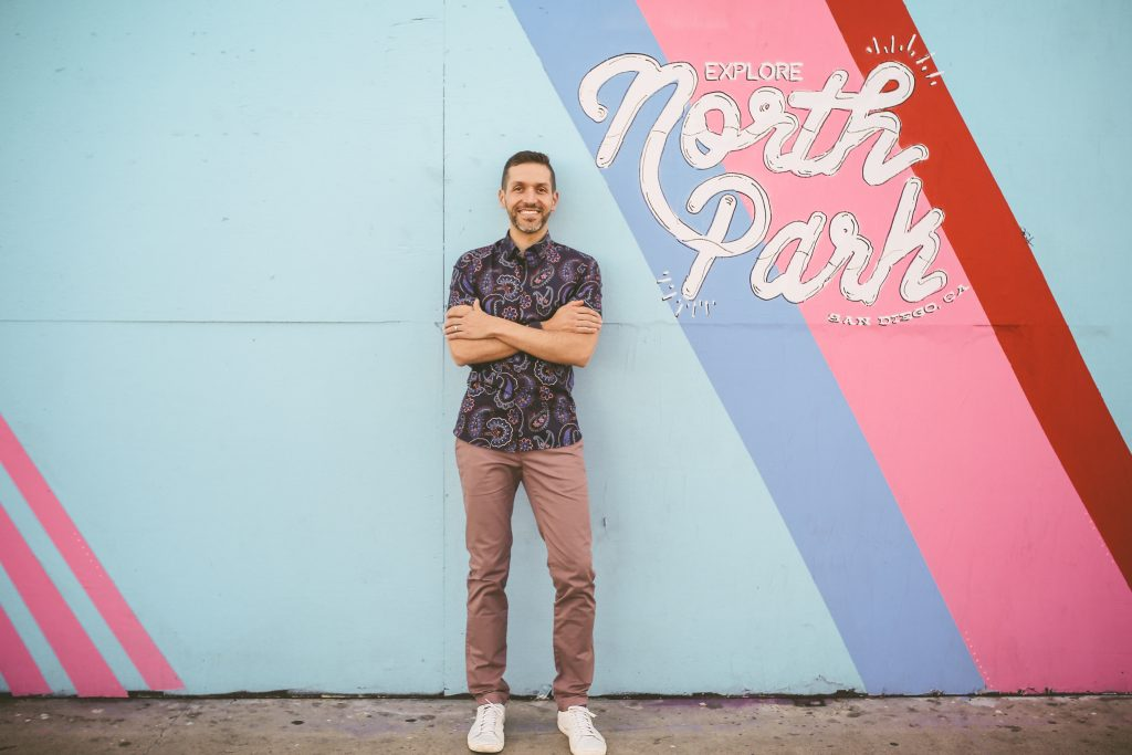 North park headshot session